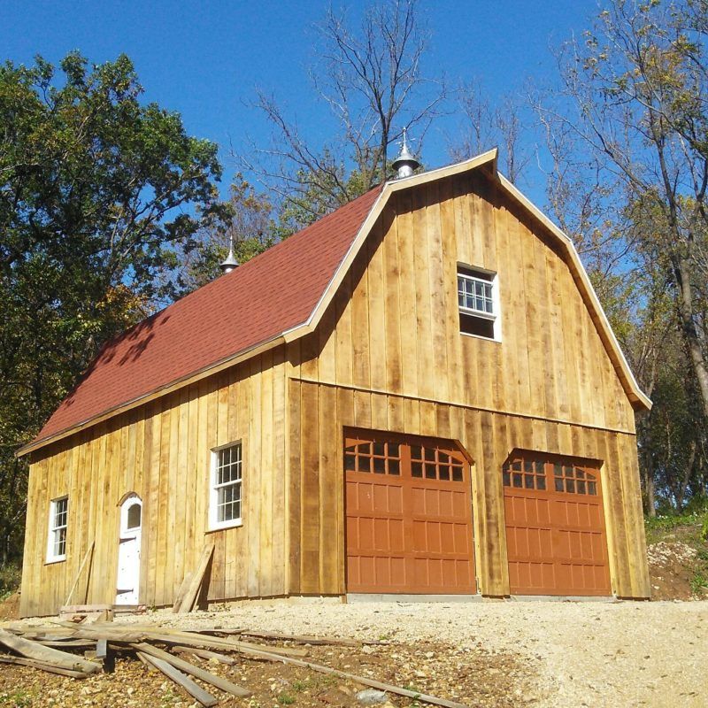 custom Timber Barns